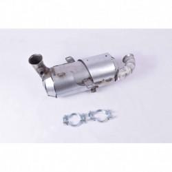 Filtre à particules (FAP) pour Peugeot 208 1.4 HDi Hayon 68cv 8v (véhicule Diesel) Moteur : 8HP(DV4C) - 8HR(DV4C)