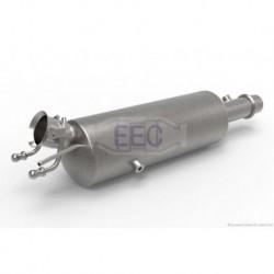 Filtre à particules (FAP) pour Peugeot 307 2.0 HDi Hayon 110cv 8v (véhicule Diesel) Moteur : RHS(DW10ATED)