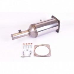 Filtre à particules (FAP) pour Peugeot 307 SW 2.0 HDi Break 136cv 16v (véhicule Diesel) Moteur : RHR(DW10BTED4)