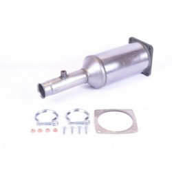 Filtre à particules (FAP) pour Peugeot 407 SW 2.0 HDi Break 136cv 16v (véhicule Diesel) Moteur : RHR(DW10BTED4)