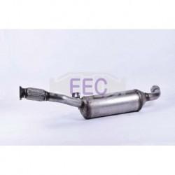 Filtre à particules (FAP) pour Renault Trafic 2.0 dCi Chassis Cab 90cv 16v (véhicule Diesel) Moteur : M9R630 - M9R780 - M9R782