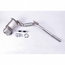 Filtre à particules (FAP) pour Seat Leon 1.6 TDi Hayon 104cv 16v (véhicule Diesel) Moteur : CAYC