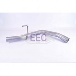 Tuyau d'échappement pour Iveco Daily 3.0 HPI Fourgon 146cv 16v (véhicule Diesel) Moteur : F1CE0481FA