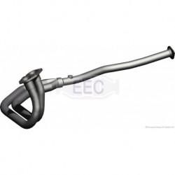 Tuyau d'échappement pour Opel Astra 2.0 F Break 115cv 8v (véhicule Essence) Moteur : C20NE