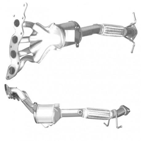 Catalyseur pour FORD FOCUS 2.0 Mk.2 16v (moteur : AODA - AODB - AODE)