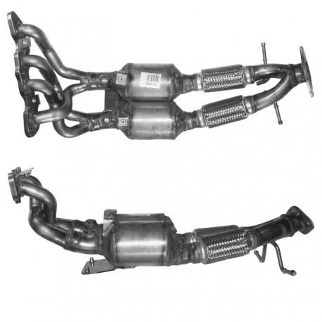 Catalyseur pour FORD FOCUS C-MAX 1.6 Ti 16v (moteur : 115cv - catalyseur double)