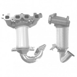 Catalyseur pour FORD FUSION 1.4 16v (Catalyseur collecteur)
