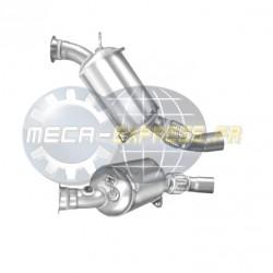 Filtre à particules (FAP) pour BMW 118d 2.0 E82 Turbo Diesel (moteur : N47 - EU4)