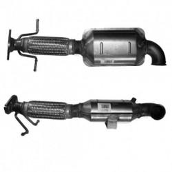 Filtres à particules pour VOLVO C30 1.6 TD Turbo Diesel D4164T - N° de chassis 220000 et suivants