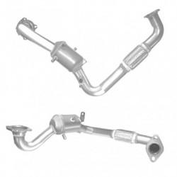 Filtres à particules pour VOLVO V70 2.4 TD D5 Turbo Diesel FWD D5244T4