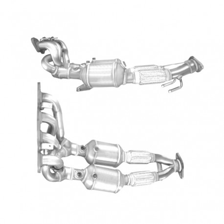 Catalyseur pour FORD GRAND C-MAX 1.6 Ti 16v (moteur : PNDA)