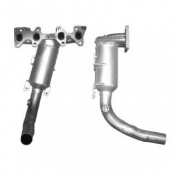 Catalyseur pour FORD KA 1.2 8v (moteur : FP4 - Euro 4)