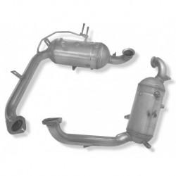 Filtres à particules (FAP) NEUF pour Volvo V50 1.6 D D4164T 81KW (od 11/2004)