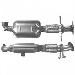 Catalyseur pour FORD MONDEO 2.0 Mk.4 TDCi (moteur : QXBA - QXBB - pour véhicules avec FAP)