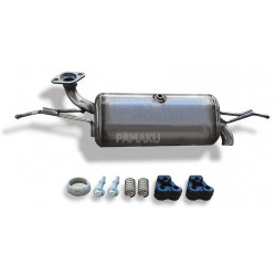 Catalyseur pour Smart Fortwo 1.0i Turbo Coupe M132.930 01/2007-