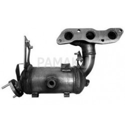 Catalyseur pour Smart Fortwo 1.0i Coupe 451480 05/2010-12/2015