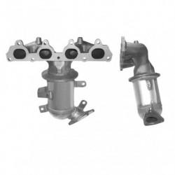 Catalyseur pour HONDA CIVIC 1.6 16v (moteur : D16Y5 - D16Y7)