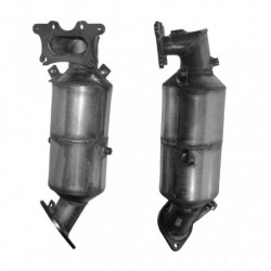 Catalyseur pour HONDA CIVIC 1.8 16v (moteur : R18A2 - Euro 4