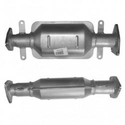 Catalyseur pour HONDA CR-V 2.2 Mk.3 i-CTDi (moteur : N22A2 - 2ème catalyseur)