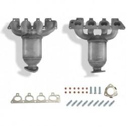 Catalyseur pour Opel Meriva 1.6i Z1.6XE 4/03-