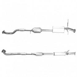 Catalyseur pour HYUNDAI SANTA FE 2.4 16v (moteur : G4JS-G - Catalyseur situé sous le véhicule