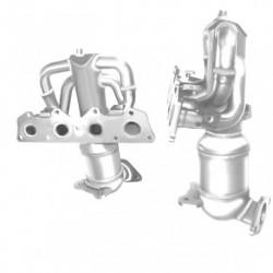 Tuyau pour FORD ESCORT 1.8 TD TD 90cv catalyseur situé sous le véhicule