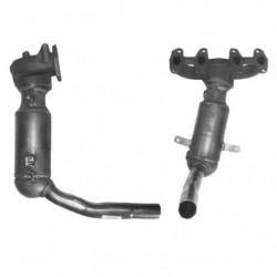 Catalyseur pour LANCIA Y 1.2 8v Collecteur (moteur : 188A4)