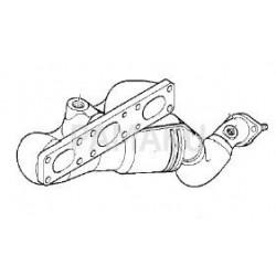 Catalyseur pour BMW 520i 2.2i M54 E60 9/03-2/05