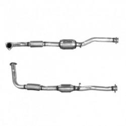 Catalyseur pour LAND ROVER DISCOVERY 2.5 Turbo Diesel (moteur : D18L)