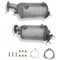 Filtres à particules (FAP) NEUF pour Audi A4 1.9TDI BRB 11/2004-06/2008