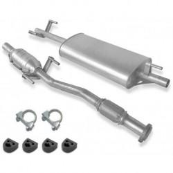 Catalyseur pour Mercedes Sprinter 2.9 OM602LA 2/96-4/00