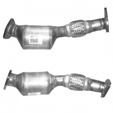 Catalyseur pour AUDI A4 1.9 TDi 101cv (moteur : AVB)