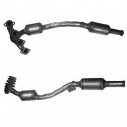 Catalyseur pour MERCEDES A170 1.7 (W169) Hayon (moteur : M266)