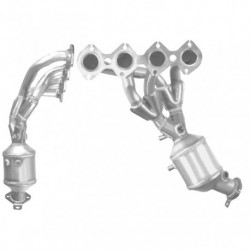 Catalyseur pour MERCEDES C200K 1.8 (W204 - S204) pour véhicules avec volant à gauche (moteur : M271)