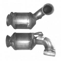 Catalyseur pour MERCEDES C220 2.1 CL203 (moteur : OM 646.963) CDi Coupe (1er catalyseur - pour véhicules sans FAP)