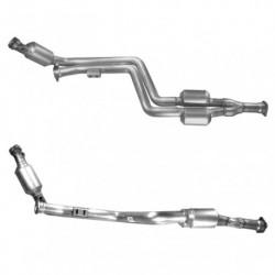 Catalyseur pour MERCEDES C280 2.8 (W202) V6 Tiptronic Berline (coté droit)
