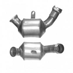 Catalyseur pour MERCEDES CLK220 2.1 C209 (moteur : OM646.963) CDi (2ème catalyseur) pour véhicules avec volant à droite