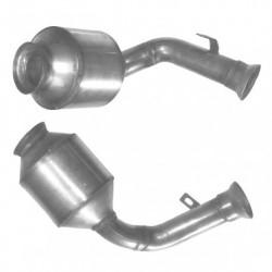 Catalyseur pour MERCEDES CLK270 2.7 C209 (moteur : OM 612.962 - 967) CDi
