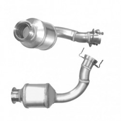 Catalyseur pour MERCEDES E200 2.2 (W210) CDi (moteur : OM611 - N° de chassis jusquà 194941) 1er catalyseur