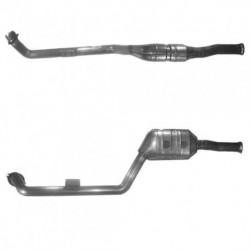 Catalyseur pour MERCEDES E200 2.2 W210 (moteur : OM 611.961) CDi Turbo Diesel (2ème catalyseur)