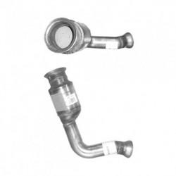 Catalyseur pour MERCEDES E220 2.2 (S210) CDi TD (moteur : OM611 - N° de chassis 194942 et suivants) 1er catalyseur