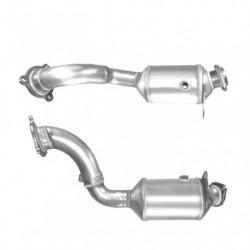Catalyseur pour ALFA ROMEO 166 2.0 16v tuyau double (sans OBD)