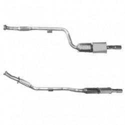 Catalyseur pour MERCEDES E250 2.5 W210 (moteur : OM605.962) Turbo Diesel Berline