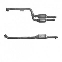 Catalyseur pour MERCEDES E270 2.7 W210 (moteur : OM612.961) CDi Turbo Diesel Berline (2ème catalyseur)