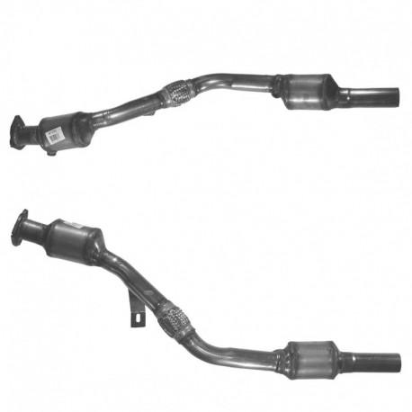 Catalyseur pour AUDI A4 3.0 V6 Quattro 6 vitesses Boite manuelle Berline (ASN) - coté droit