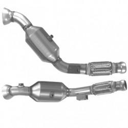 Catalyseur pour AUDI CABRIOLET 2.8 V6 (catalyseur simple 3 boulons)