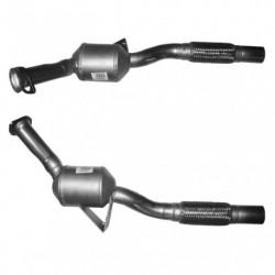 Catalyseur pour MERCEDES SPRINTER 2.9 (904) 412D 4x4 TD (moteur : OM 602.980)