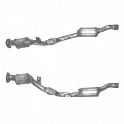 Catalyseur pour AUDI A4 3.0 V6 2WD CVT Auto Cabriolet (moteur : ASN) Coté gauche