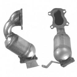 Catalyseur pour BMW 520i 2.2 E60 Collecteur (M54 - cylindres 4-6)