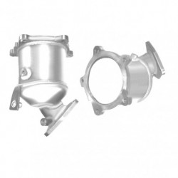 Catalyseur pour NISSAN NAVARA 2.5 TDi (moteur : D22 Series)